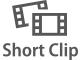 Grabar clips breves con efectos en la reproducción