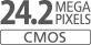 24,2 megapíxeles