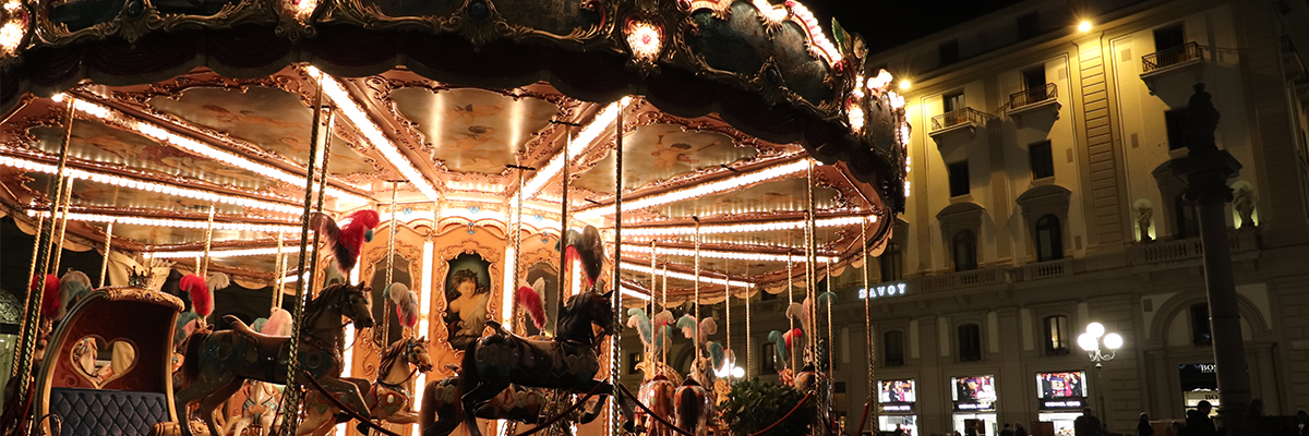 carousel at night