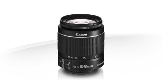 Canon EF-S Zoom Lente 18-55mm f3.5-5.6 Lentes IS II